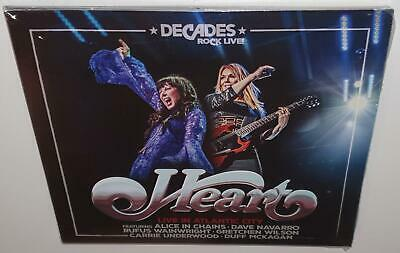 Heart Live In Atlantic City (2019 Release) Brand New Sealed Cd + Bluray