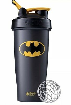 Clasic Blender Bottle Justice League Batman 28oz