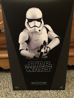 First Order Stormtrooper Star Wars Force Awakens Hot Toys Figure MMS317 2015