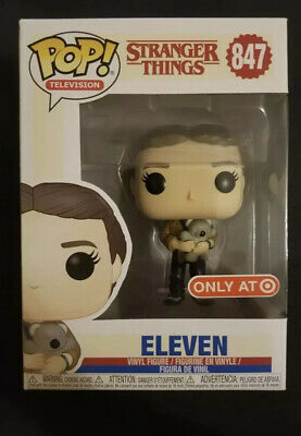 Funko Pop Stranger Things - ELEVEN WITH BEAR - 847 - Target EXCLUSIVE - In Stock