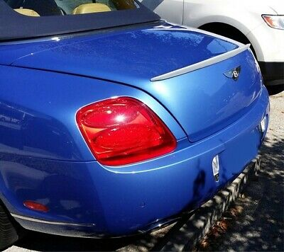 2012-2015  Bentley Continental GTC Factory Style Rear Lip Spoiler (UNPAINTED)