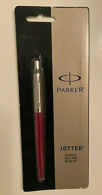 Parker Jotter Ballpoint Pen, Medium Point, 1.0 mm, Red Barrel, Black Ink