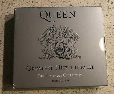 "QUEEN - ""Greatest Hits I II & III"" - The Platinum Collection 3 CD -"