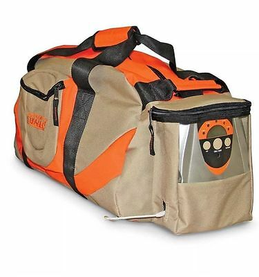 NEW Scent Crusher Odor Eliminating Large Hunting Gear Bag w/ Ozone Generator