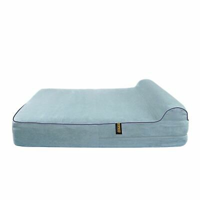 REPLACEMENT Dog Bed With Pillow Grey - Large