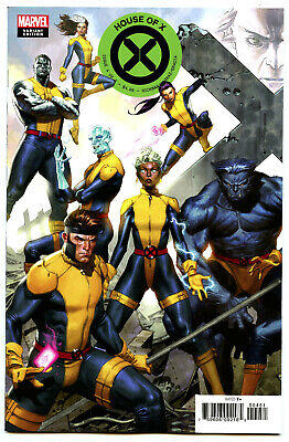 House Of X #4 (2019) Marvel NM/NM- Molina Connecting Variant
