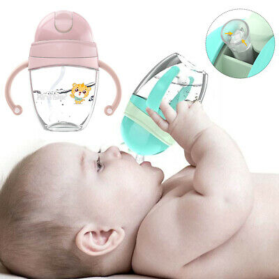 Sippy For Baby Drinking Education Travel Removable Handle Straw Cup Leakproof