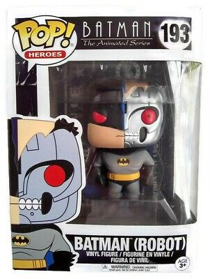 Funko Pop Batman Robot 193 Animated Series Heroes Vinyl Figure Free Shipping New