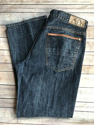Sean John Jeans Size 38 Hamilton Relaxed Fit Straight Leg Copper Pockets