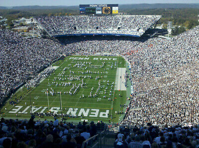 Penn State vs. Purdue, October 5, 2019: 4 tickets, Yellow parking Lot #39