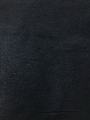 BLACK MEDIUM WEIGHT 100% COTTON TWILL FLAME RESISTANT FABRIC (60 in.) Sold BTY