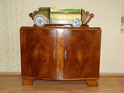 ANTIK ! Art Deco Kommode Anrichte Buffet massiv Nuss +Eiche um 1925 TOP
