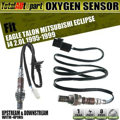 2x O2 02 Oxygen Sensors for Mitsubishi Galant  Eclipse 04-12 Downstream 25024026