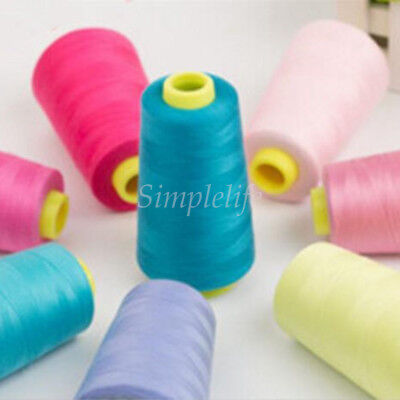 HOT Reel 3000 Yards Sewing Machine Multi-Purpose Pure Cotton Thread Colorful