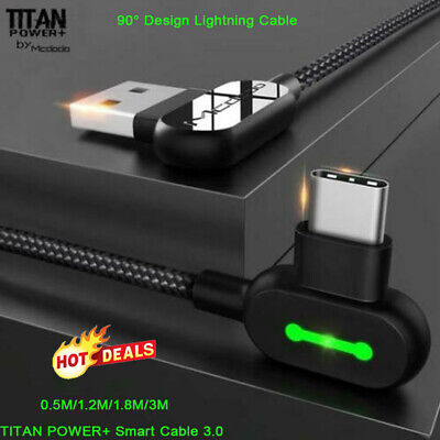 TITAN POWER+ Smart Cable 3.0 Charging Cable Mobile Phone Charger Cord Usb Data