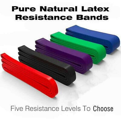 Exercise Bands Latex Resistance Streching Band - Pull Up Assist Bands Fitness