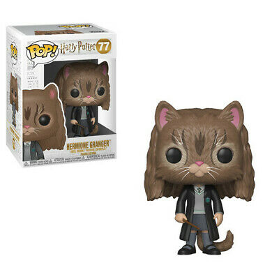Harry Potter - Hermione As Cat - Funko Pop! Movies: (2018, Toy NUEVO)