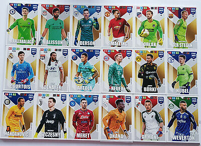 Panini Fifa 365 2020 Adrenalyn XL alle 216 Team Mates zur Auswahl choose