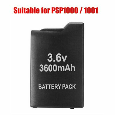 3.6V 3600mAh Replacement Rechargeable Battery Pack for Sony PSP PSP1000/1001 YD