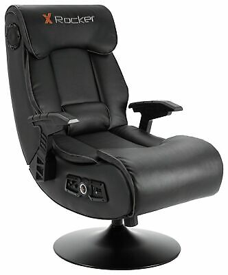 X-Rocker Elite Pro PS4 Xbox One 2.1 Gaming Chair - See Pictures first, rip sewed