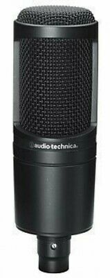 Audio Technica Side Address Cardioid Condenser Studio Microphone AT2020 Wired
