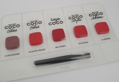 Chanel I Love Coco Rouge Coco Stylo Shine Samples