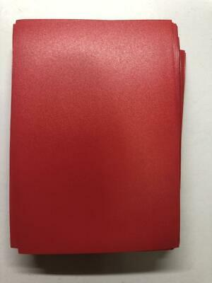 Lenayuyu 60pcs DECK PROTECTOR Card Sleeves 62mm*89mm red and Glossy