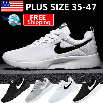 Plus Size Women Men Breathable Running Shoes Comfort Sports Casual Sneakers