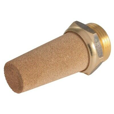 "Air Silencer 1/2""Bspp Brass Sintered"