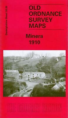 Old Ordnance Survey Map Of Minera 1910