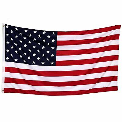 2x3 American Flag w/ Grommets ~ USA United States of America ~ US Flag  2' x 3'