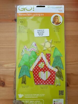 AccuQuilt GO! Licensed Fabric Cutting Die - Home - 55379 by Stacy Michell