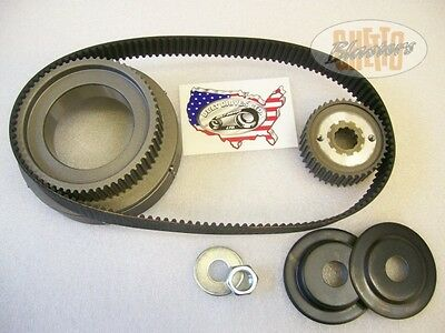"BDL Belt Drive kit Primärantrieb 1,5"" 8mm Drive Harley  36 - 54 Knuckle Flat Pan"
