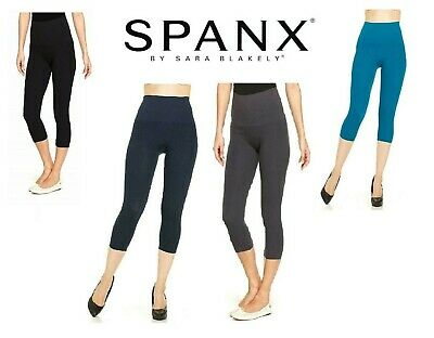 Spanx Star Power Tout and About Capri Shaping Leggings BNWT 2219
