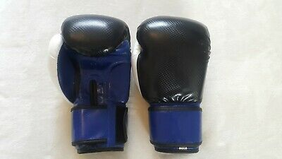 Leather Boxing Gloves Professional MMA Sparring Punch Bag Training Fight