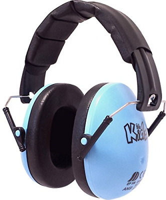 Ear Defender Kids Toddler Hearing Protection Folding Autism Noise Reduction Blue