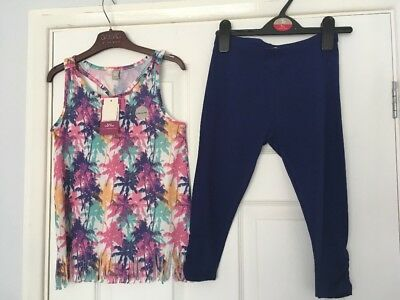 Two-Piece Summer Leggings & Top Outfit -TU 8 Years  ⭐️BNWT⭐️