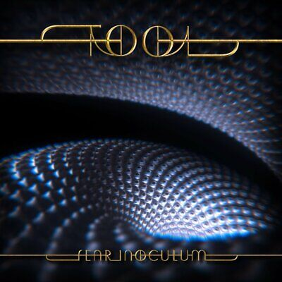 "Tool Fear Inoculum Limited Edition Deluxe Tri-Fold 4"" HD Screen CD Brand New"