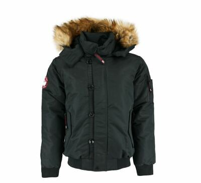 MENS CANADA WEATHER GEAR Waterproof Padded Parka XL £49.99