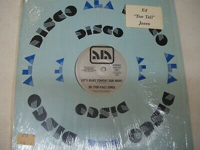 Ed Too Tall Jones Dallas Cowboys Disco Funk Boogie 1982 RARE 12""