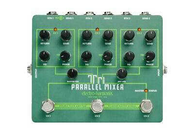 Electro-Harmonix Tri Parallel Mixer Effects Loop Mixer/Switcher GENTLY USED