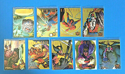 1995 Fleer Ultra X-Men Insert Card Hunters Stalkers Card #2 Cable
