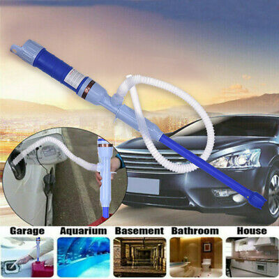 Handheld Liquid Transfer Gas Oil Fish Tank Siphon Water Pump Battery Operated US