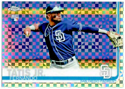 2019 TOPPS Chrome X-FRACTOR REFRACTOR PARALLEL SINGLES YOU PICK / YOU CHOOSE