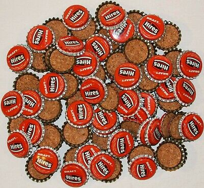 Soda pop bottle caps Lot of 25 CORKY with clown cork lined unused new old stock