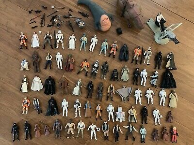 Star Wars A New Hope Figures, Creatures And Weapons. Bult Lot.