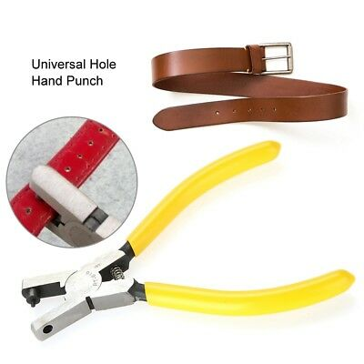 DIY Universal Hand Leather Strap Puncher Watch Band Belt Tool Hole Punch Pliers