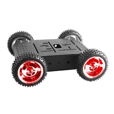 C3 4WD Smart Robot Car Chassis w/ Motor Rubber Wheel DIY Educational Toy