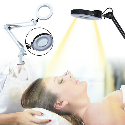 5X Magnifying Lamp Daylight Craft Lens Magnifier Desktop Table Work Bench NEW