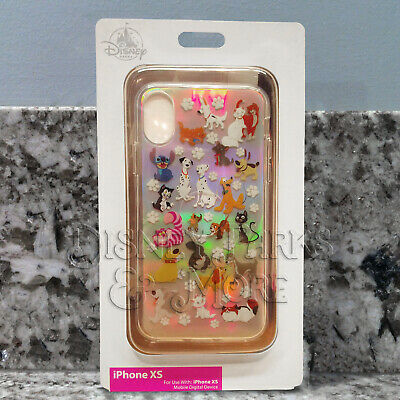 Disney Parks Cats and Dogs of Disney Films Holographic iPhone XS Phone Case